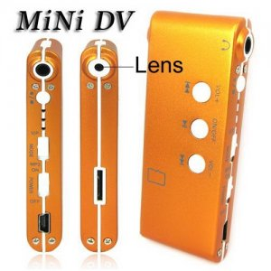 High-Def Mini Camera with MP3 Player and PC Camera - Support Memory Card